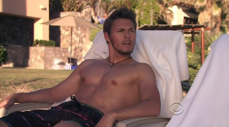 Scott Clifton Shirtless in the Bold and the Beautiful 20111230