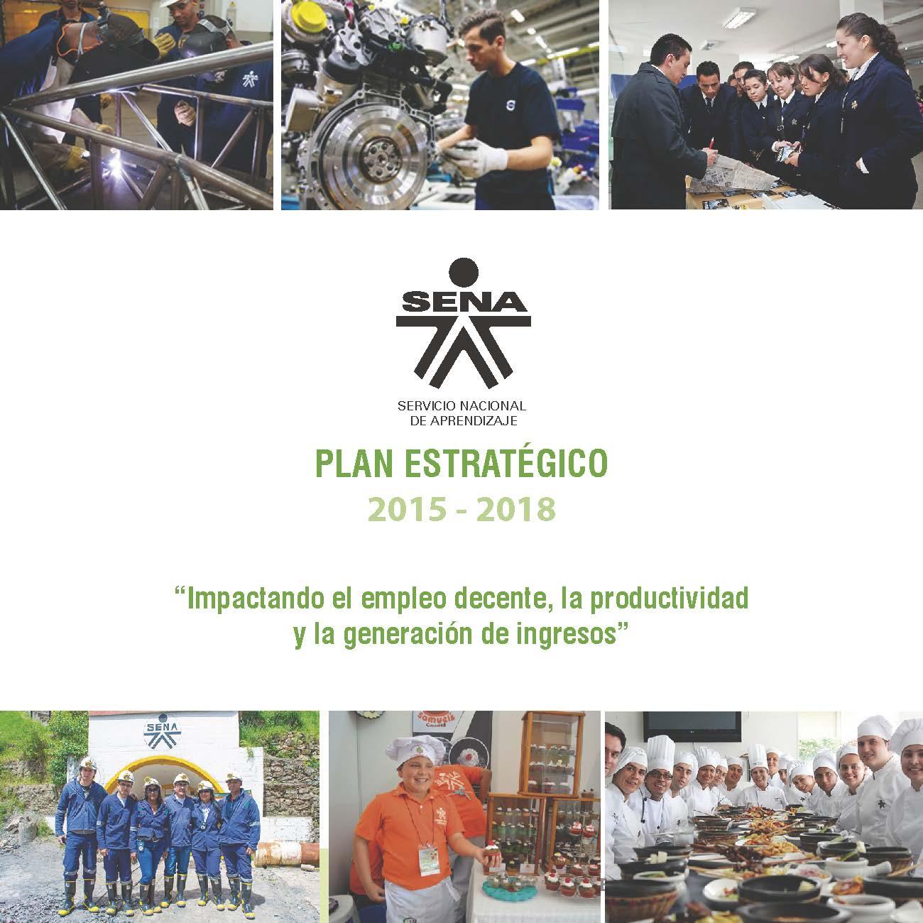 Plan estratégico 2015-2018