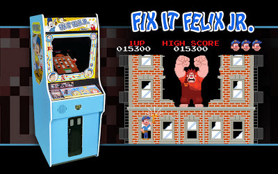 Fix-It Felix JR Game Cabinet