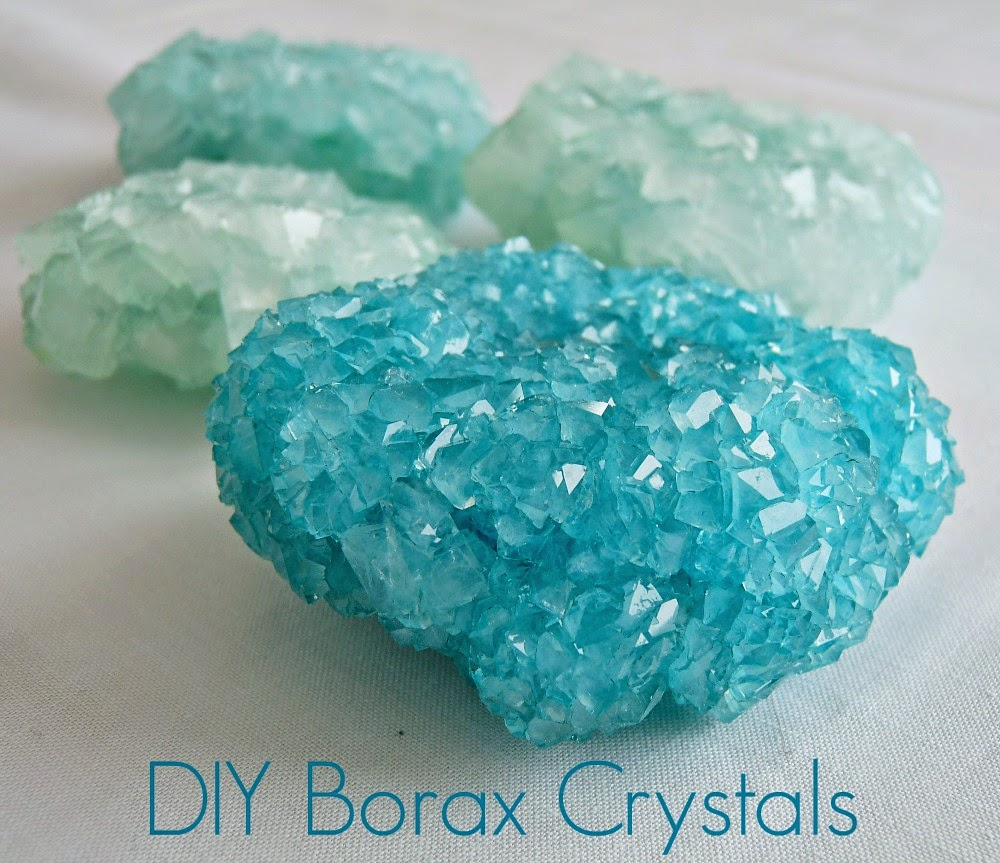 Dans le lakehouse diy borax crystals