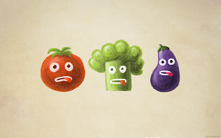 Funny Vegetables wallpaper