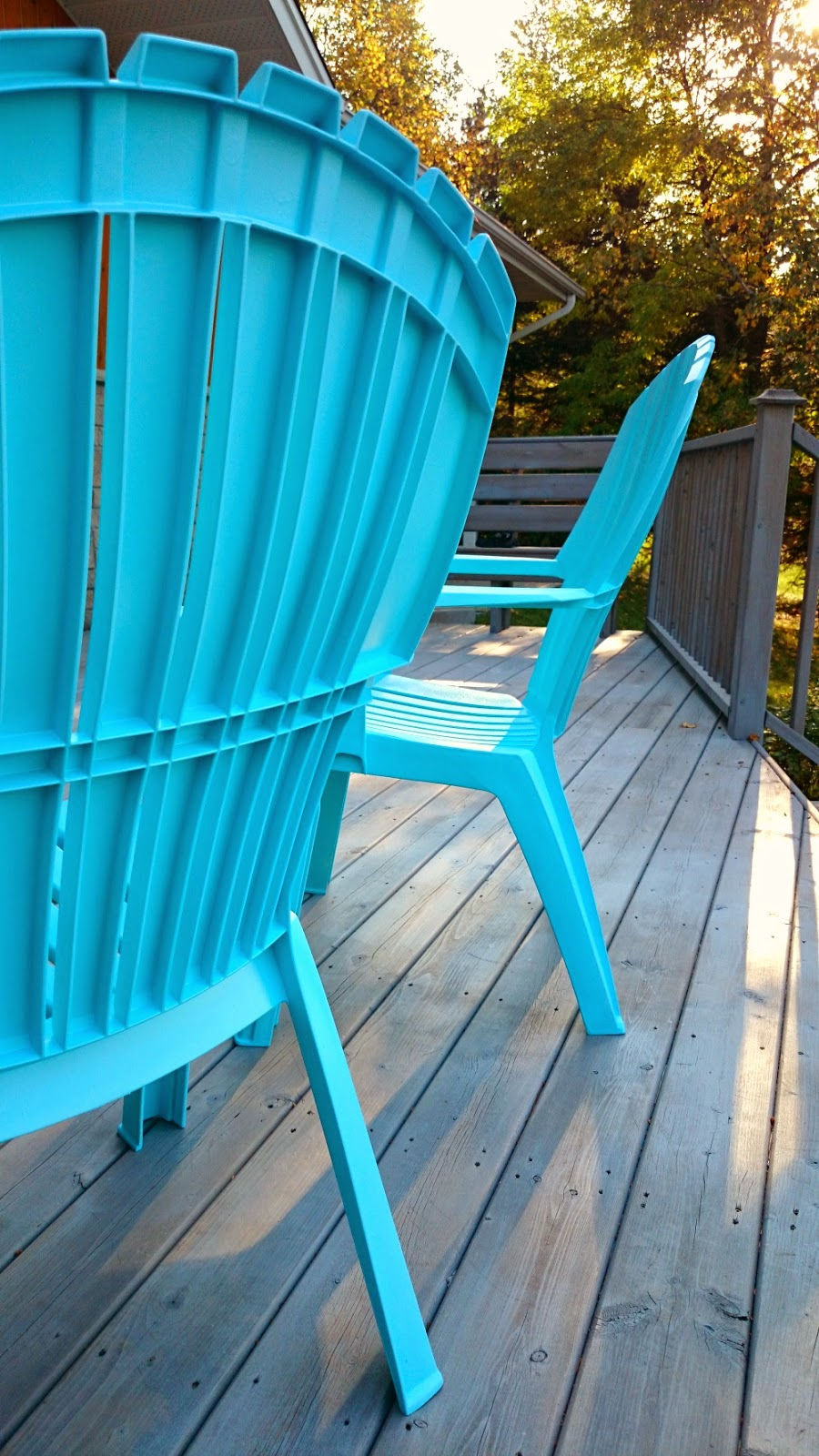 Painting Plastic Chairs how to spray paint plastic lawn chairs | dans le lakehouse