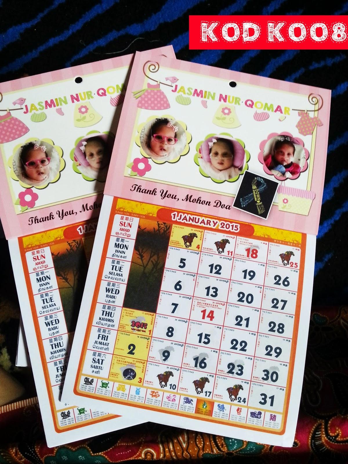 mini kalendar
