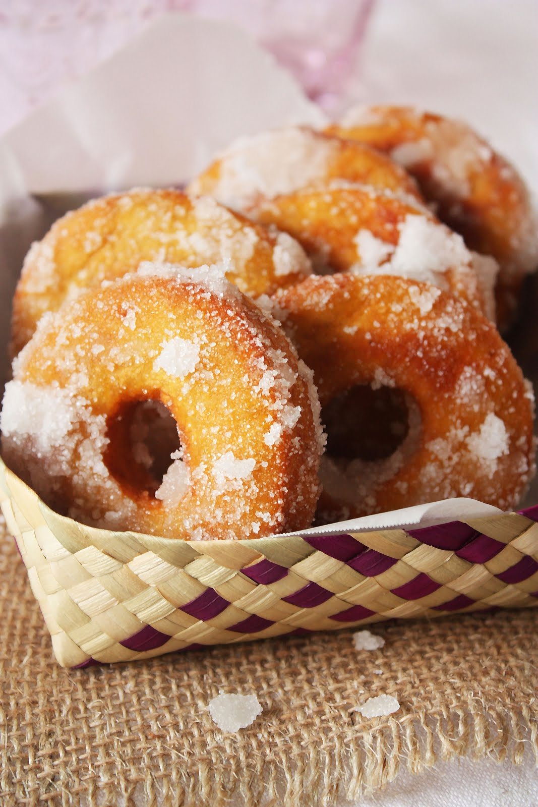 Old Fashioned Mashed Potato Donuts