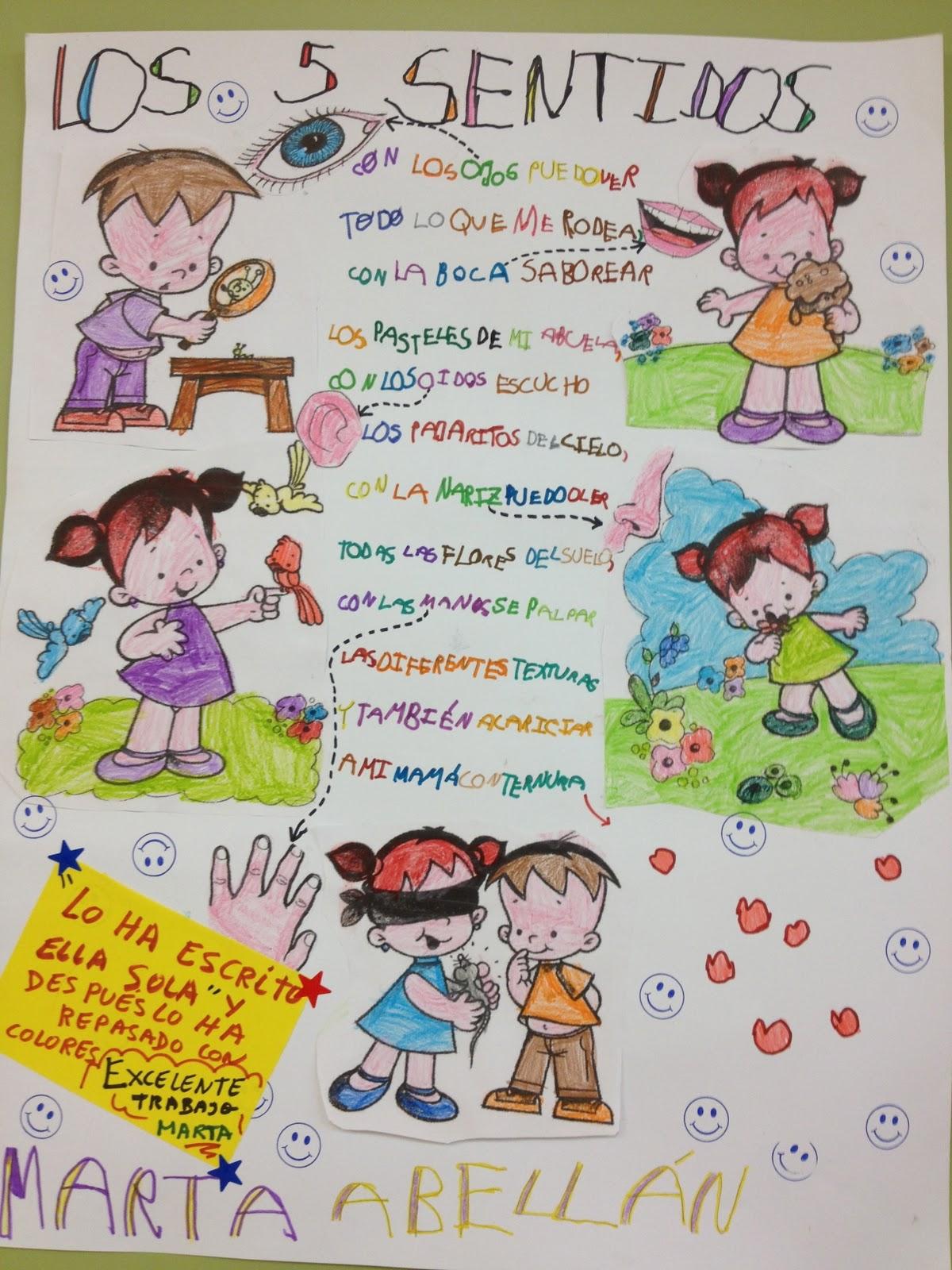 EDUCACIÓN INFANTIL: LOS CINCO SENTIDOS