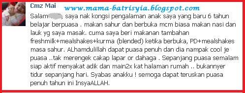Mama Batisyia Pengedar shaklee