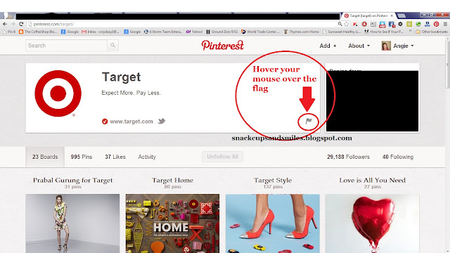 how to block people on pinterest