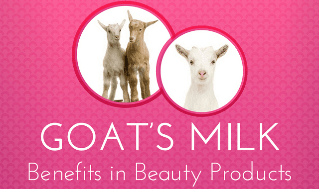 Image: Goat's Milk Benefits in Beauty Products