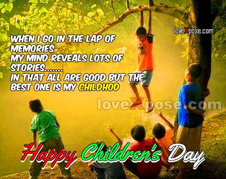Happy Children's Day india image