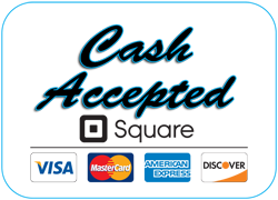 Accepting cash and credit