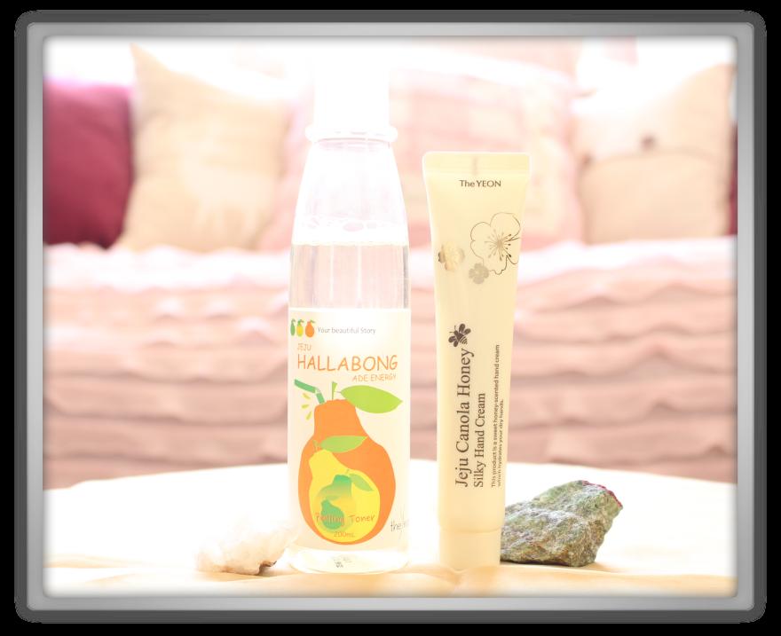 겟잇뷰티박스 by 미미박스 memebox beautybox Special #46 From Jeju unboxing review the yeon hallabong ade energy peeling toner canola honey hand