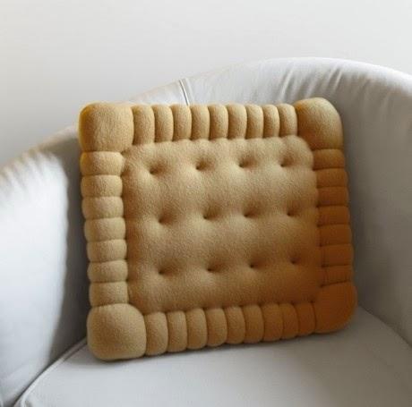 Almofada criativa biscoito