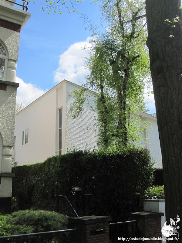 Bruxelles - Uccle - Maison Everaert  Architecte: Jacques Dupuis  Projet / Construction: 1952 - 1954