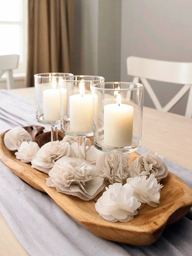 Tabletop Decorating Ideas - Kitchen Layout and Decorating Ideas