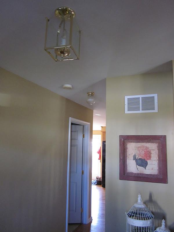 Affordable Foyer Lighting : New foyer light fixture super easy inexpensive
