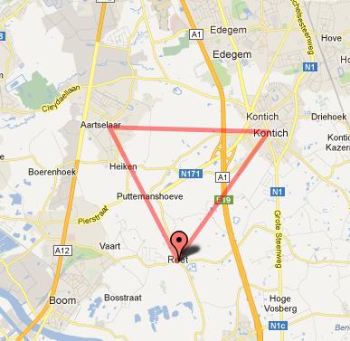 In België hebben ze zelfs een hele anale driehoek waar je heen kunt