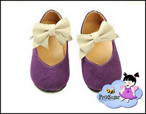 KAREN PURPLE BOW SHOE RM45