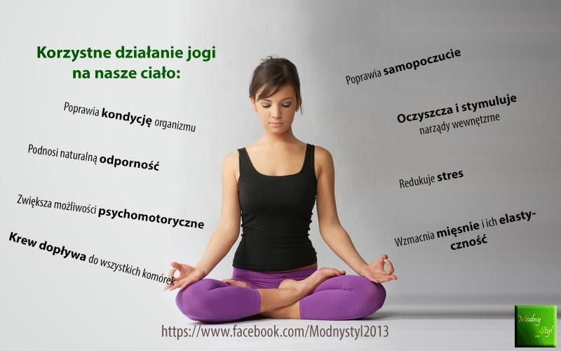 Korzystne działanie jogi na nasze ciało