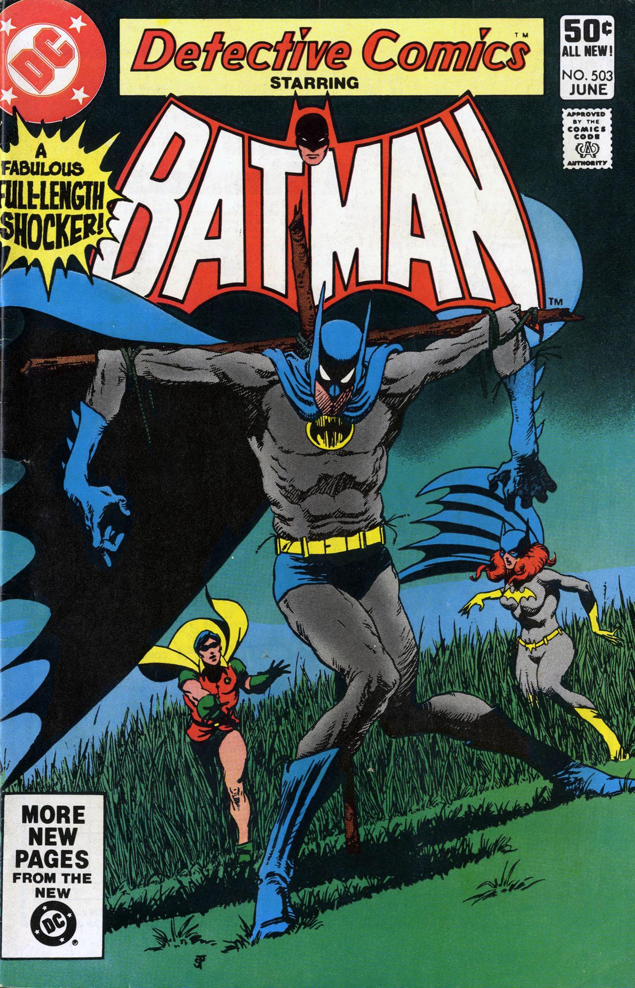 Detective Comics (1937) 503 Page 1