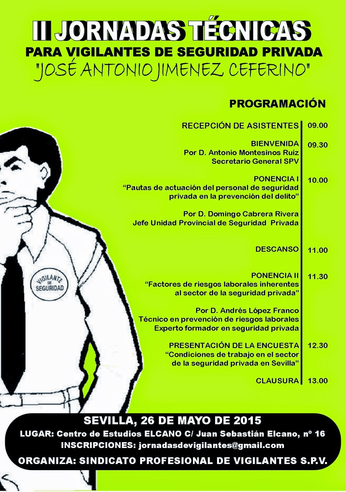II Jornadas Técnicas para vigilantes de seguridad
