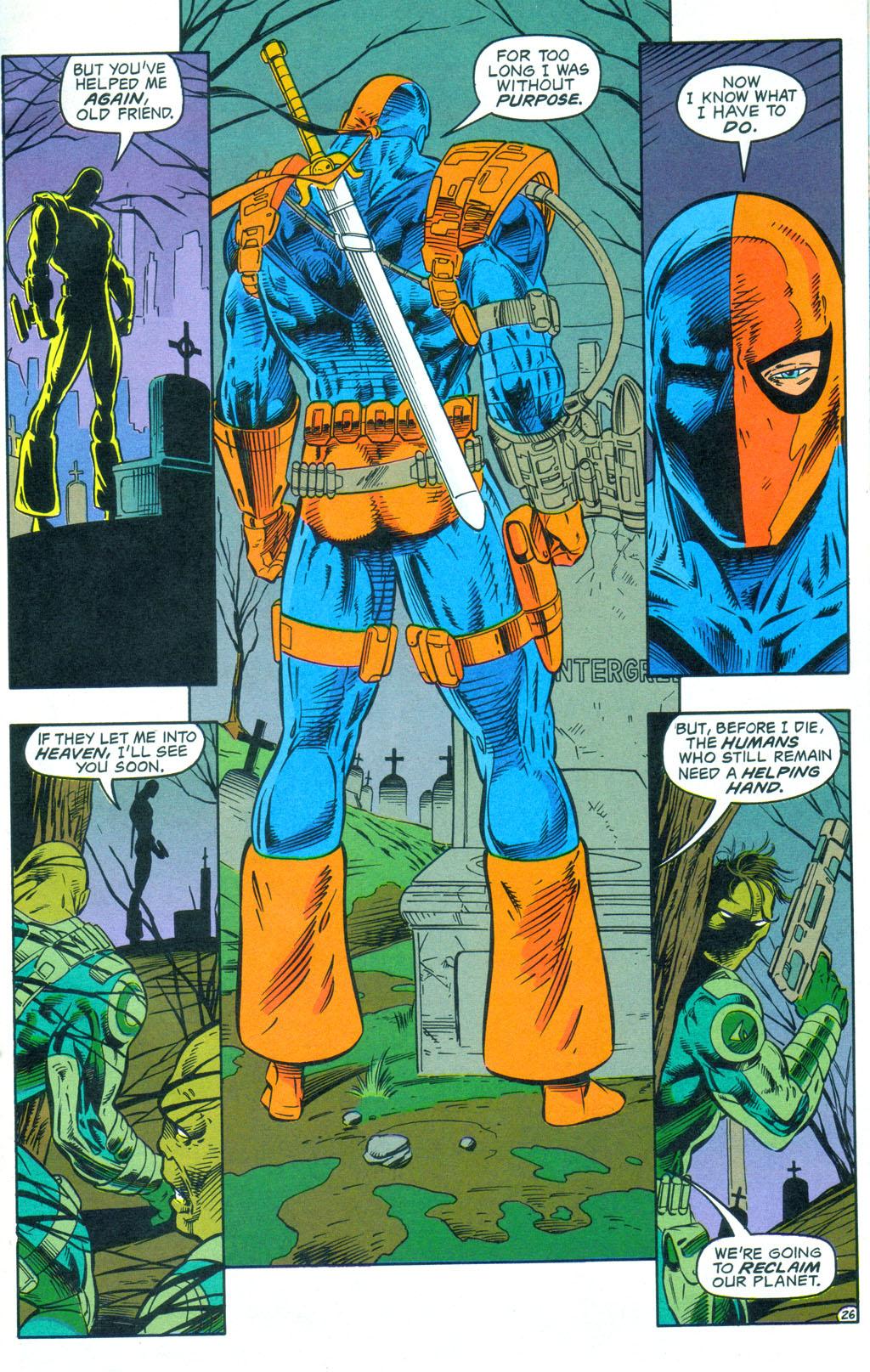 Deathstroke (1991) Annual 3 #3 - English 27