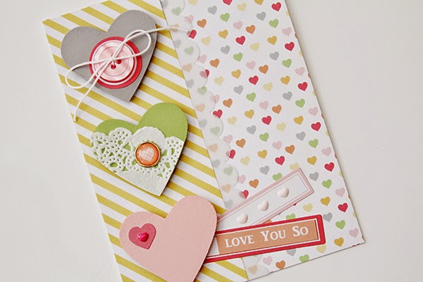 Erin Taylor Chickaniddy Crafts I Love You card