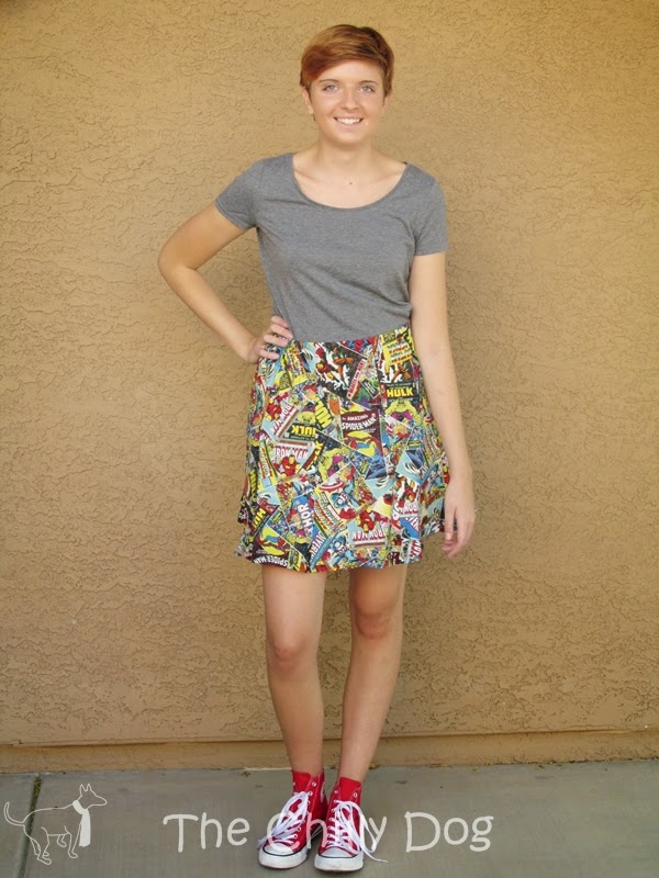 Sewing Tutorial: How to create a custom skirt pattern that fit's almost anyone