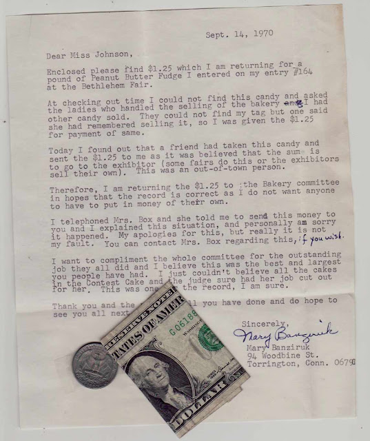 Found Money in a letter