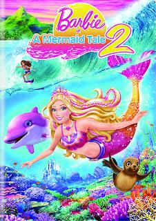Poster de Barbie en una aventura de sirenas 2