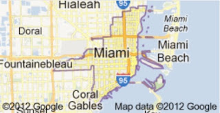North Miami Beach, Nikki Beach, Miami Florida Map