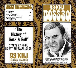 KHJ Boss 30 No. 188 - Bill Wade