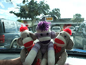 """DON'T FORGET YOU CAN """"CHECK OUT"""" SOCK, MONKEY, & LOLA TOO!"""