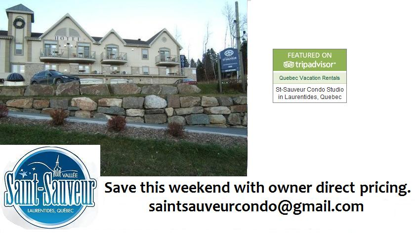 ST-SAUVEUR CONDO RENTALS
