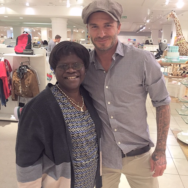 tiwa savage mother david beckham