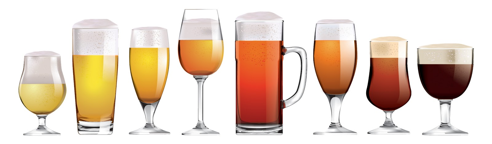 Beer Glasses For Different Beers