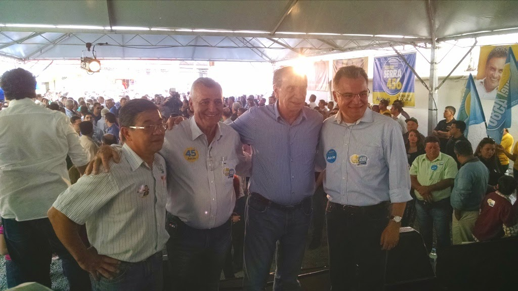 Inauguração do Comitê do Candidato a Deputado Federal Samuel Moreira em Registro-SP