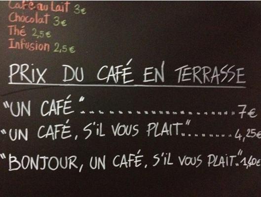 Harga Kopi di Perancis