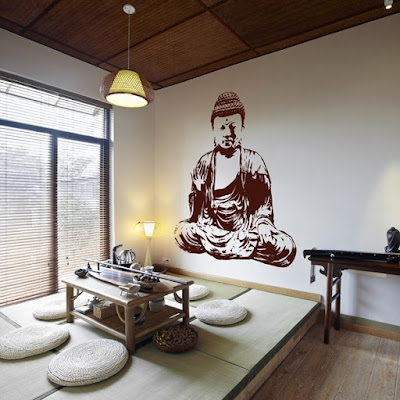 Vinilo Zen Buda ref, MO142 decoración relajante y serena