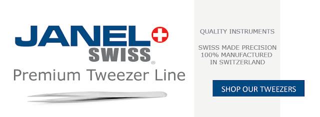 Shop Janel Swiss Tweezers Today!
