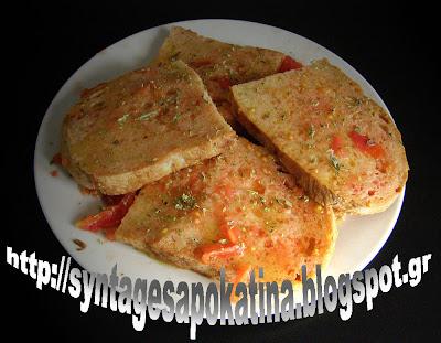 η πατροπαράδοτη ριγανάδα, γευσικότατο, κυρίως καλοκαιρινό κολατσιό http://syntagesapokatina.blogspot.gr