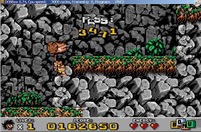 Prehistorik 2 - Level 2 Screenshot
