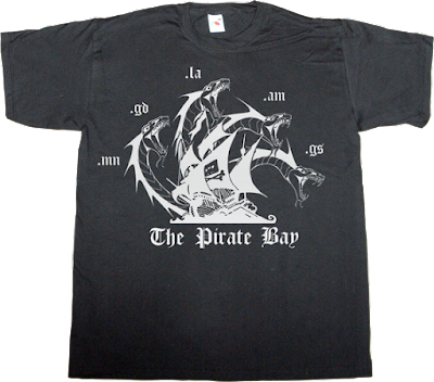 the pirate bay tpb peer to peer p2p freedom useless lawsuits useless lawyers useless copyright t-shirt ephemeral-t-shirts