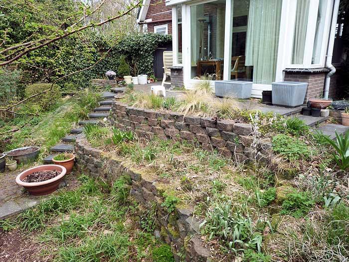 Spinrag tuinen wild en of gestructureerd for Tuin decoratie met stenen