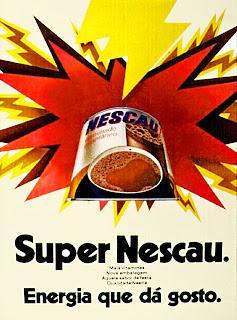 propaganda Nescau - 1972;   1972; os anos 70; propaganda na década de 70; Brazil in the 70s, história anos 70; Oswaldo Hernandez;