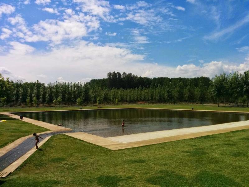 Resultado de imagen de piscina villoria de orbigo