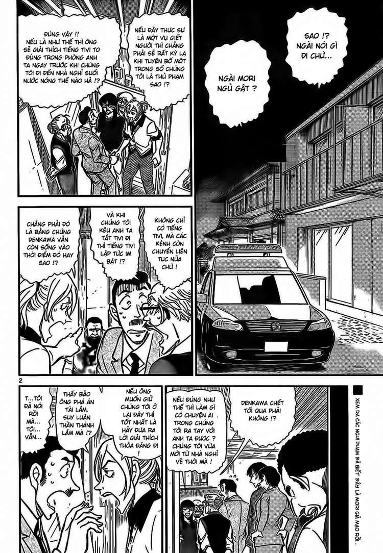 Detective Conan - Thám Tử Lừng Danh Conan chap 789 page 3 - IZTruyenTranh.com