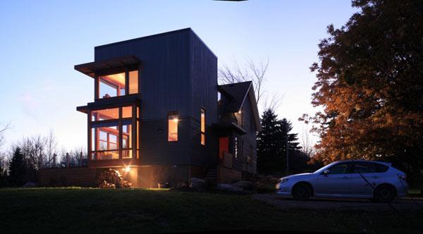 lantai kini menjadi trends dan banyak di cari dan disukai orang Inilah Inspirasi Rumah Minimalis 2 Lantai