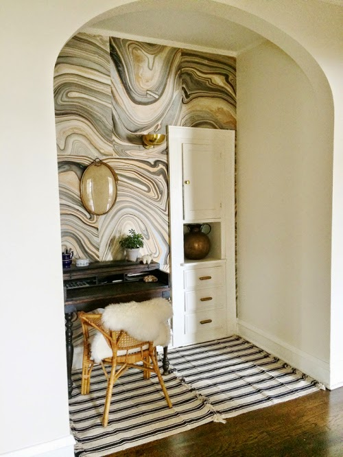 SWIRLY AGATE WALLS - Rosa Beltran Design: SWIRLY AGATE WALLS
