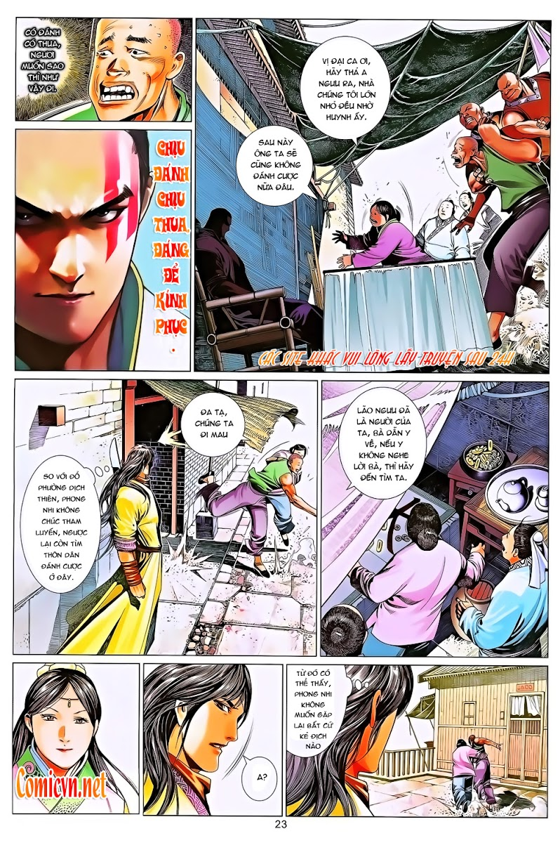 Phong Vân chap 643 Trang 23 - Mangak.info