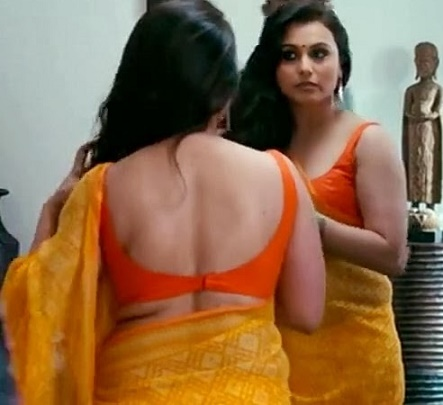 rani mukherjee backless